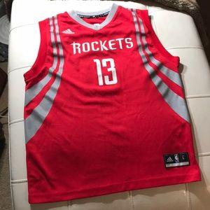 James Harden Houston Rockets Basketball Jersey